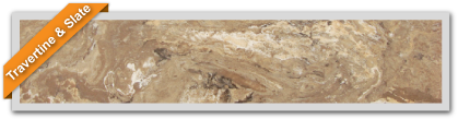 See our Travertine & Slate Colors!